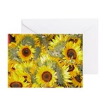 Tuscany Sunflowers - Cards (Pkge of 6)