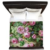 Rose Deams King Duvet