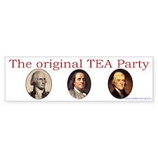 Original TEA party Bumper Bumper Sticker