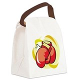 boxing gloves.jpg Canvas Lunch Bag