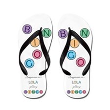 Lola BINGO Flip Flops
