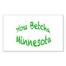 you betcha mn g Decal