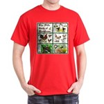 Christmas Birds Dark T-Shirt