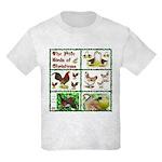 Christmas Birds Kids T-Shirt