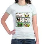 Christmas Birds Jr. Ringer T-Shirt