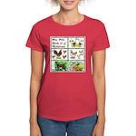 Christmas Birds Women's Dark T-Shirt