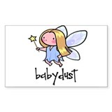 Baby Dust Fairy Rectangle Decal