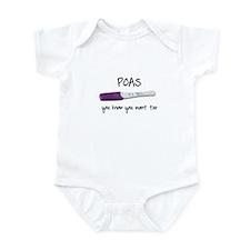 POASaholic Infant Bodysuit