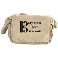 My Other Horn Is A Viola Messenger Bag