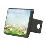 Spring Tulips Rectangular Hitch Cover