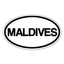 Maldives Decal