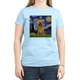 Starry Night Silky Terrier (B T-Shirt