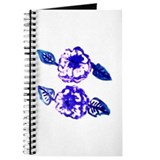 Mothers Violet Flowers Journal