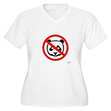 No Panda (Canada) Plus Size T-Shirt