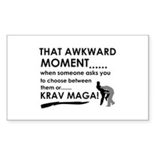 Cool Krav Maga designs Decal