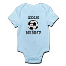 """Team Mommy"" Soccer edition Infant Bodys"