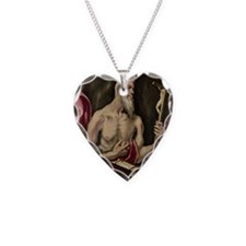 St. Jerome @oil on canvasA - Necklace