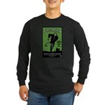 Strk3 Lincolnstein Long Sleeve Dark T-Shirt