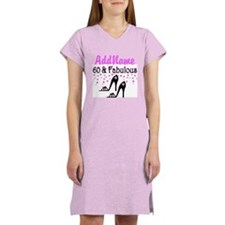 60 & A SHOE QUEEN Women's Nightshirt