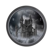 Dark Castle Wall Clock