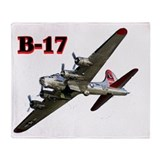 b-17 Throw Blanket