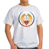 Reiki Healing Hands Organic Cotton T-Shirt