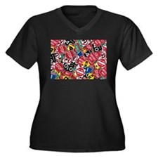 Signs, Signs, Everywhere a Sign Plus Size T-Shirt