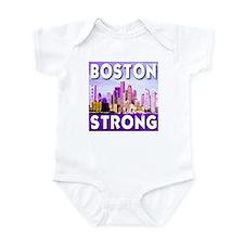 Boston Strong Skyline Onesie