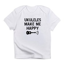 Ukukeles musical instrument designs Infant T-Shirt