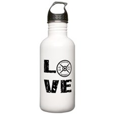 Love Lifting Weights Water Bottle