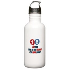 Gifts for the individual turning 18 Water Bottle