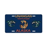 UNANGAN Aluminum License Plate