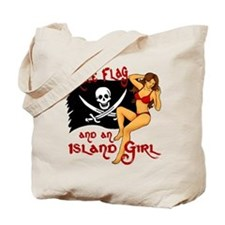 pirate girl Tote Bag