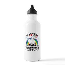 Unicorns Are Fabulous Water Bottle