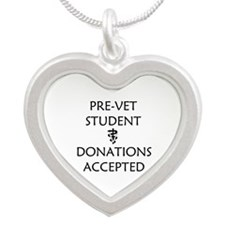 Pre-Vet Student - Donations Accepted Silver Heart