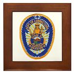 Alaska Corrections Framed Tile