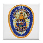 Alaska Corrections Tile Coaster