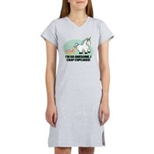 Crapping Cupcakes Women's Nightshirt