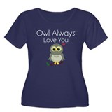 Owl Always Love You Plus Size T-Shirt