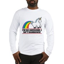Awesome Rainbows Long Sleeve T-Shirt
