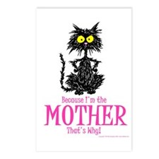 MOTHER'S DAY CAT Postcards (Package of 8)