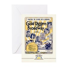 Gold Diggers of Broadway Cards (10 Pack)