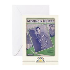 Whistling in the Dark Greeting Cards (10 Pack)