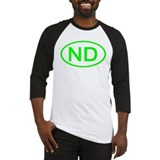 ND Oval - North Dakota Baseball Jersey
