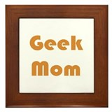Geek Mom Framed Tile