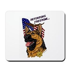 German Shepherd K-9 Mousepad #1