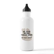 AF Nephew Aunt wears DCB Water Bottle