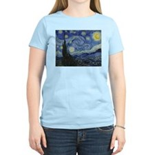 Vincent Van Gogh Starry Night T-Shirt