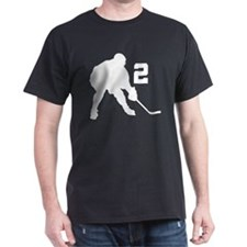 Hockey Player Number 2 T-Shirt