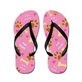 Aidi Mom Gift Flip Flops